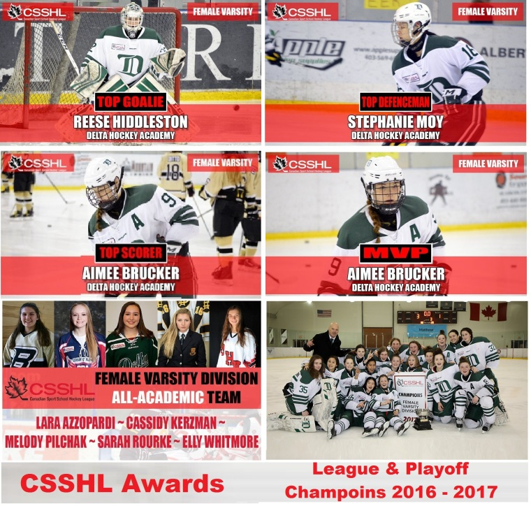 fem var csshl award winners